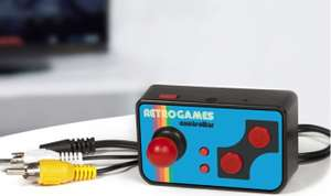 Retro TV Games Controller with 200 Games FOR £7.19 W/C Free C&C @ Robert Dyas