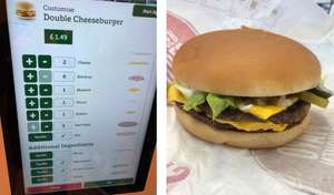DIY 'Big Mac' for only £1.59 @ McDonalds