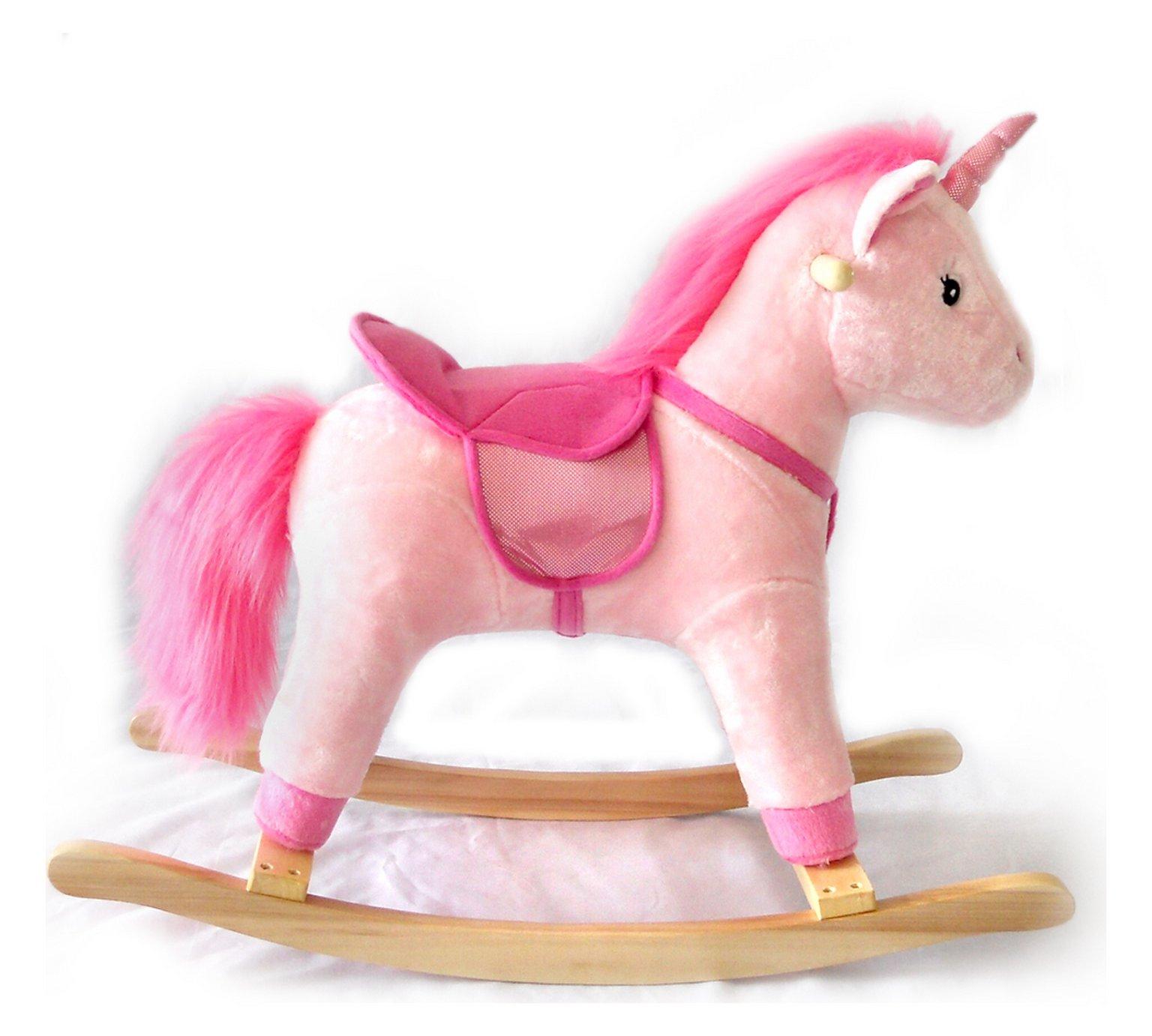 Chad Valley Unicorn Rocking Horse was £40 now £31.99 Argos