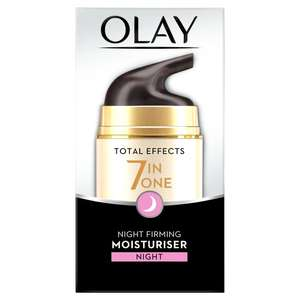 Olay total effects 7 in one  range £8 Morrisons