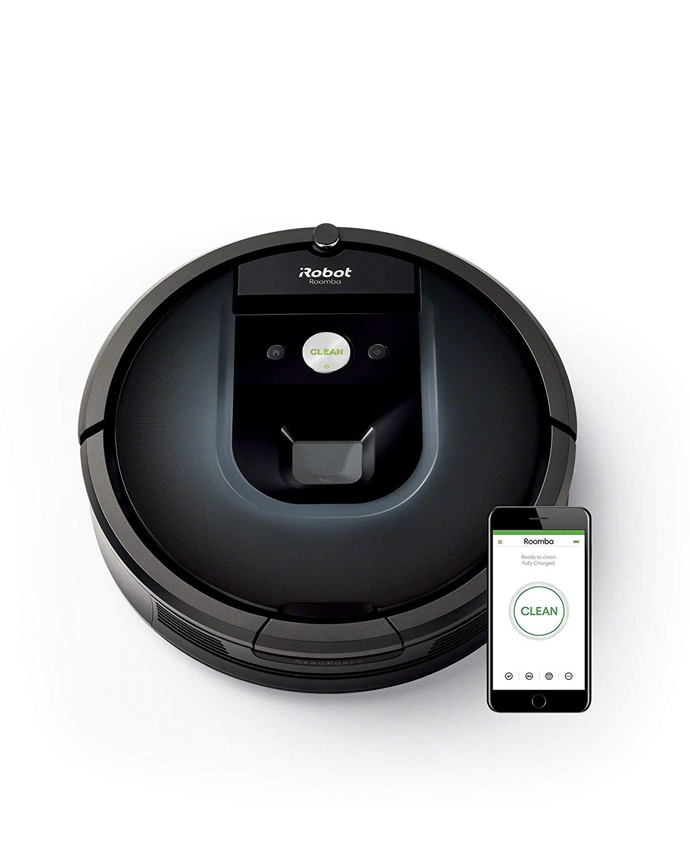 iRobot Roomba 981 Robot Vacuum Cleaner, Night Blue - 22% off - £699.99 @ Amazon