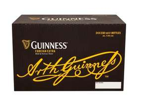 Guinness Foreign Extra Bottle Beer, 24 x 330 ml @ Amazon Pantry £21.44