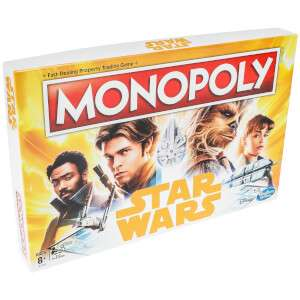 15% off Selected Monopoly Sets (e.g. Star Trek £12.74 / Star Wars £16.14 / Peppa Pig £16.14) w FREE Delivery using code @ IWOOT