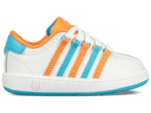 Blippi K-Swiss Baby/ Toddler Shoes in White or Blue £29.99 delivered @ Footlocker