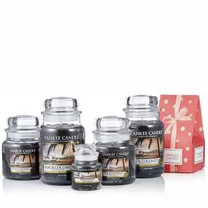 Yankee Candle 5 Piece Classics Collection with 5 Gift Boxes £41.95 Delivered (4 Easy Pays) @ QVC (If New use code FIVE4U to get £5 off)