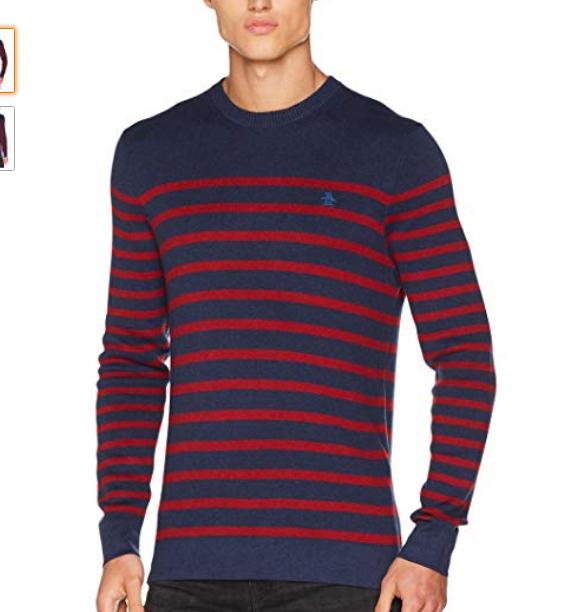 Original Penguin Men's Supima Breton Sweatshirt (Size S) @ Amazon £21.67