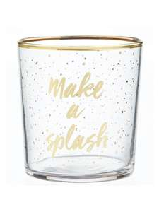 Lovely glass tumblers for your Christmas table - £1.50 (£2 C&C / £3 Delivery) @ John Lewis & Partners