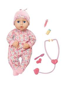 Baby Annabell Milly Feels Better doll - £29.99 @ Very