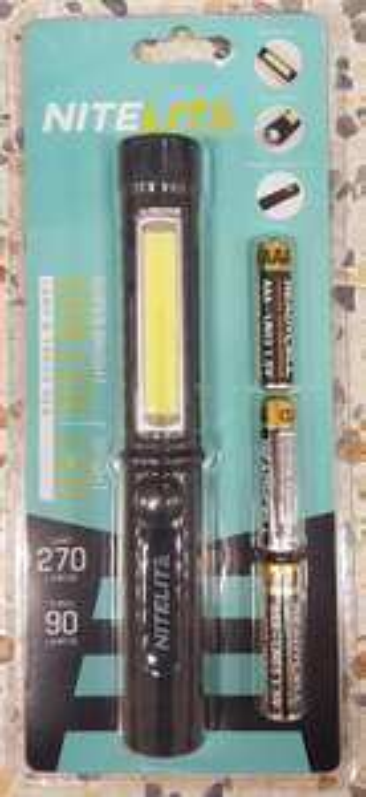 HOME BARGAINS INSTORE: COB LED Lamp & Pen Torch (270lm/90lm): £1.99