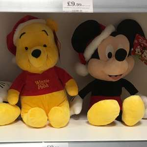 Medium & Large Christmas Disney Soft Toys - £9.99 to £19.99 in Home Bargains