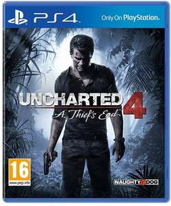 Uncharted 4 A thief's end (PS4) £8 instore used /£9.50 delivered @ CEX