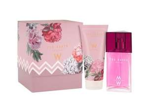 TED BAKER W Eau de Toilette Gift Set for her 75ml Gift Set @ThePerfumeShop for only £9.20 20% off on £11.50 at checkout