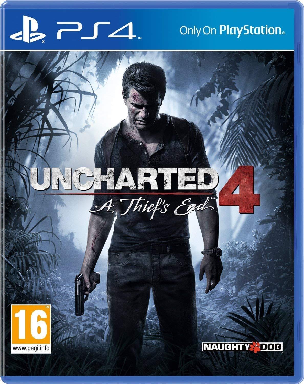 Uncharted 4 PS4 New @ Amazon - £9.99 Prime / £12.98 non-Prime