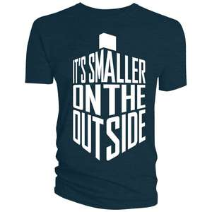 Doctor Who: T-Shirt: Smaller On The Outside (Size L) £2.99 at Forbidden Planet (£1 delivery)