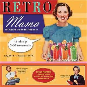 Retro mama family planner calender at calender club for £5.40 delivered with code