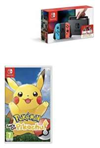 Neon Switch Console with Pokemon Let's go Pikachu £273.48  or Eevee for £271.50 delivered @ Amazon (Glitch. Read description for details)