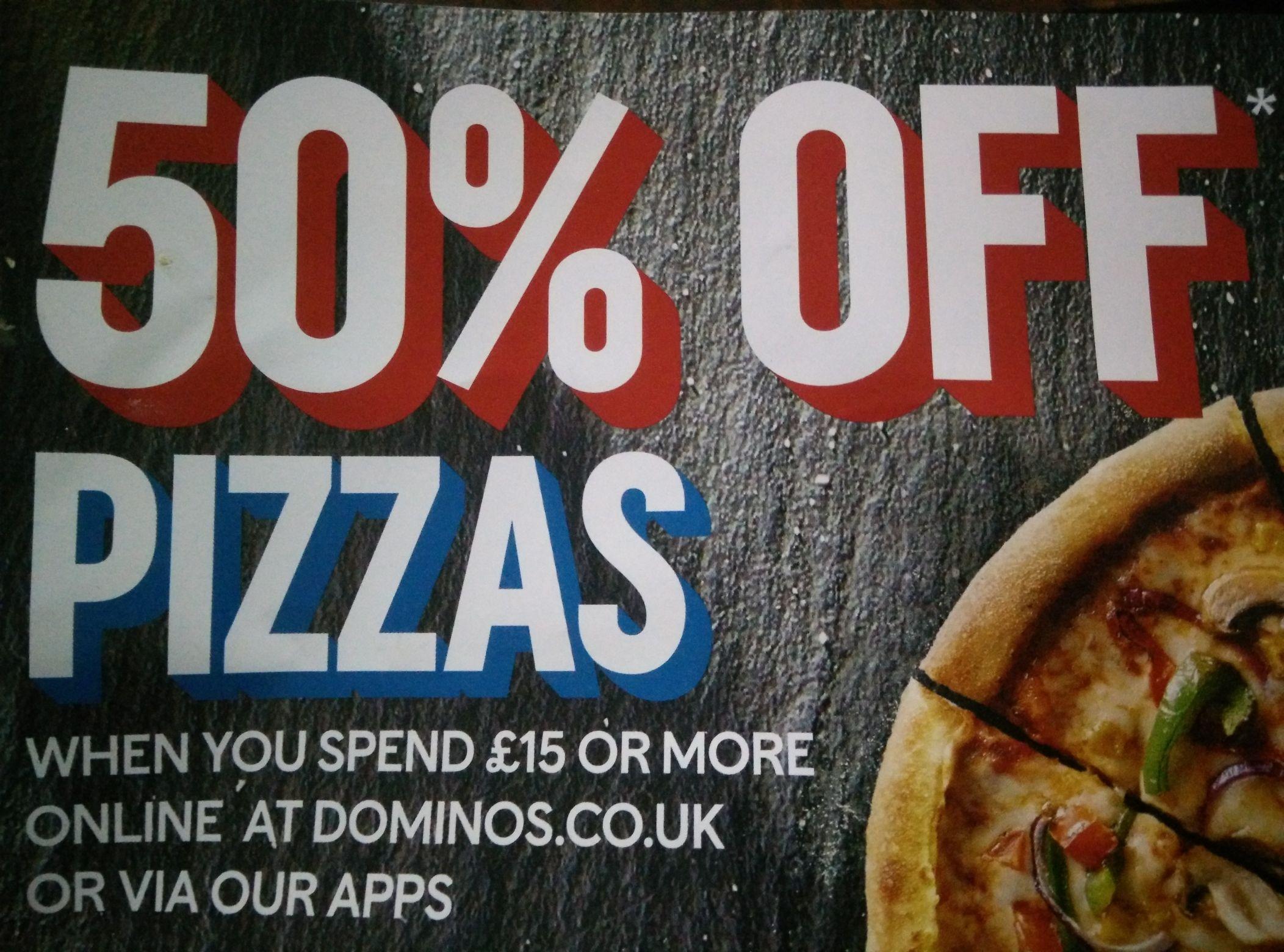 Domino's Pizza Birmingham  50% off