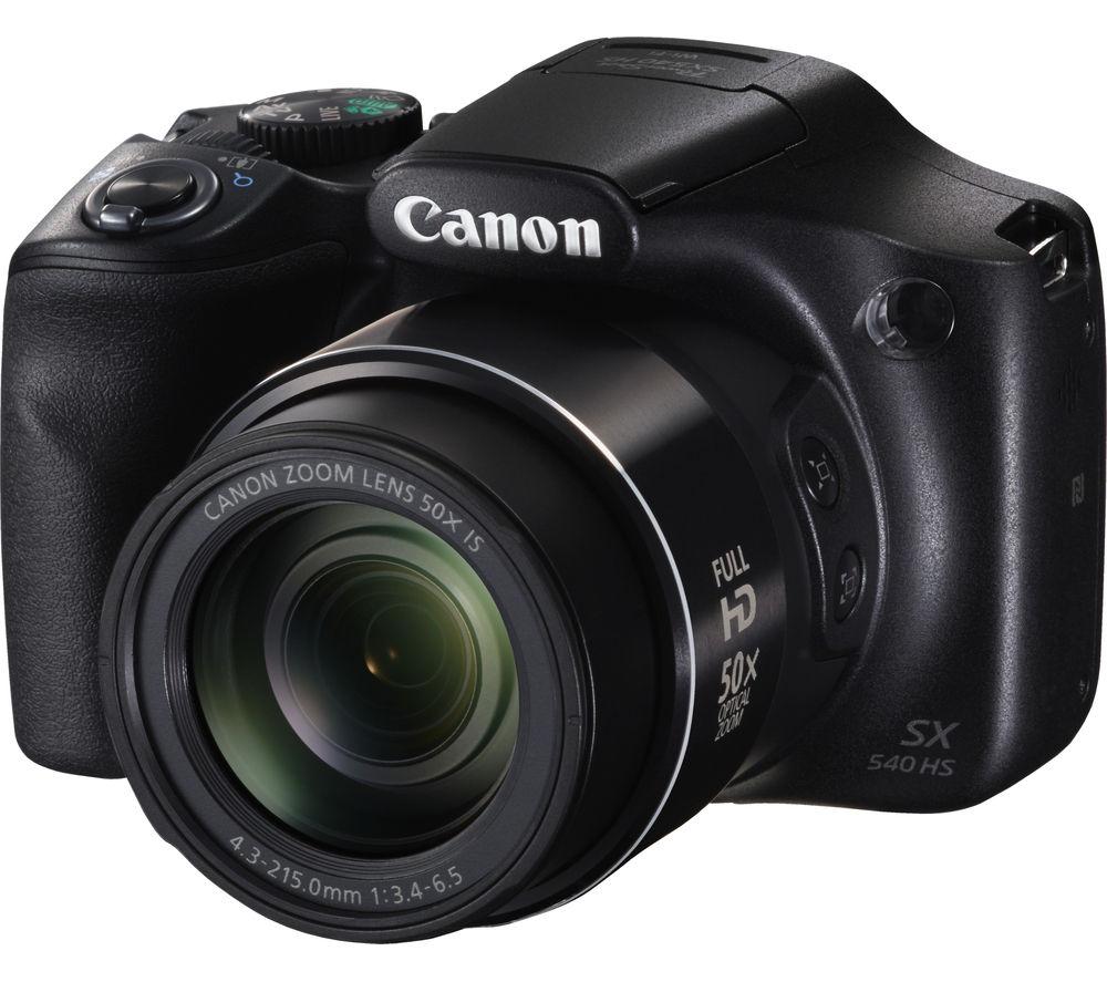 CANONPowerShot SX540 HS Bridge Camera - Black, £199.99 @ Currys