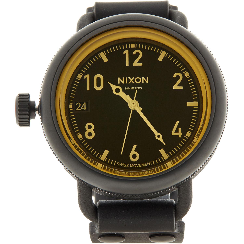 Nixon Matte Black & Gold October Watch £49.99 @ TK Maxx (+ £1.99 C&C / £3.99 Del)