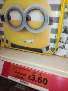 Minion lunch box with bottle instore @ Sainsbury Bolton was £12 now £3.00