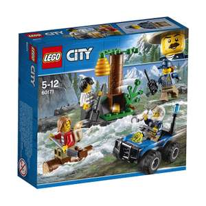 LEGO UK - 60171 City Mountain Police Mountain Fugitives Construction Set Was £9.99 now £6.99 Prime Members Only @ Amazon Prime Exclusive