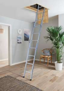Youngman Easiway 3 Section Aluminium Loft Ladder - Max Height 3m for £35 @ Wickes (Free C&C)