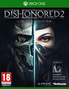 Dishonored 2 Limited Edition INCLUDES Dishonored 1 (Xbox One & PS4) £9.89 Delivered @ Base