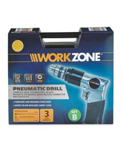 Air Compressor Pneumatic Drill/  Reciprocating Saw/ Spot Blaster £6.99 each @ Aldi  Free P&P over £20 otherwise £2.95