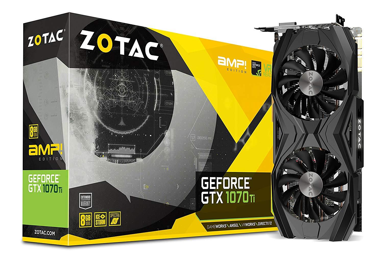 Zotac GeForce GTX 1070 Ti AMP £380.39 Amazon - Prime Exclusive