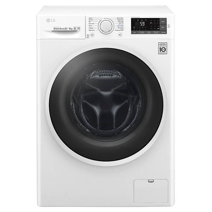 LG 8+4kg 1400rpm Washer Dryer W5J6AM0WW £380 w/code / LG F4J7JY2W 10kg 1400rpm Steam + Turbowash washer £455 w/code @ Co-op Electrical