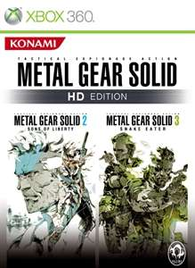 METAL GEAR SOLID HD EDITION: 2&3 only £7.49 with Xbox Live Gold