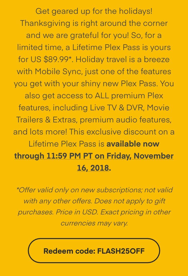 plex pass cost