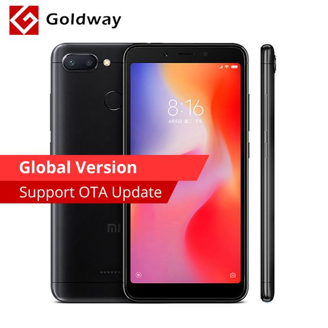 Xiaomi Redmi 6 (Global) 3 GB / 32GB £84.68 @ Aliexpress