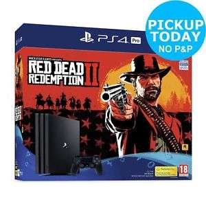 PS4 Pro + Red Dead Redemption 2 £315 / (Refurbished) Xbox One + Far Cry 5  £278.10 @ Argos eBay (Using Australian  code)