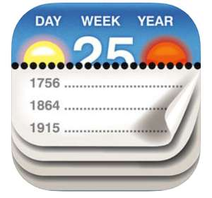 Calendarium - About this Day - iOS now FREE was 99p