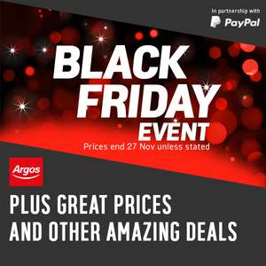 *Now Live* Argos Black Friday - Google Chromecast 3rd Gen £20 / Bose QC25 Wired Headphones £129.95 / Fire 7 8GB Tablet £29.99 (see post)