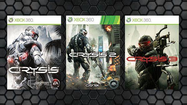 Crysis 1,2 & 3. Xbox 360/one  @ Xbox Store - £7.49 each