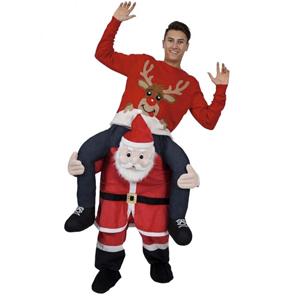 Carry Me Santa Adult Christmas Costume £22.99 delivered w/code @ JTF