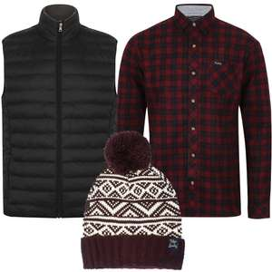Men's Tokyo Laundry Gilet, Shirt & Hat  for £26.98 delivered w/code @ Tokyo Laundry