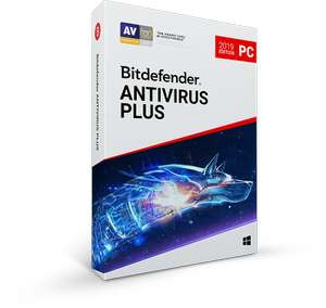 63% off Bitdefender antivirus. £14.99 for a year.