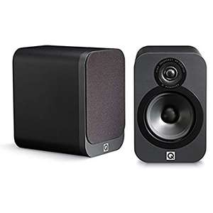 Q Acoustics 3020 Bookshelf Speakers (Pair) (Graphite) £99 @ Amazon - Sold and Despatched by Richer Sounds