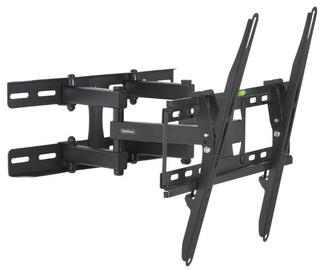 """VonHaus 23 - 56"""" Double Arm Tilt & Swivel TV Bracket - £14.99 @ Domu UK"""