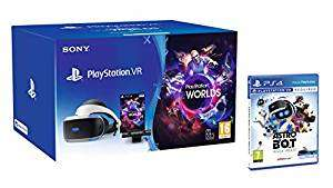 PlayStation VR + Astro Bot + Doom VR £179.99 // PSVR Starter Pack + Twin controllers + Skyrim VR £229.99 or with Doom VR £219.99 @ Amazon