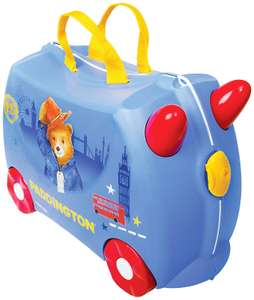 Trunki Children's Ride-On Suitcase: Paddington Bear (Blue) for £26.99 @ Amazon