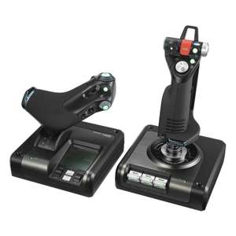 Logitech G Saitek X52 Pro Flight Control System - Amazon £109.99