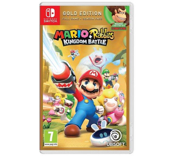 Mario + Rabbids Kingdom Battle Gold Edition (Nintendo Switch) £25.99 @ Argos