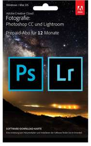 Adobe Creative Cloud photograph subscription with 20GB: Photoshop CC and Lightroom CC | 1 year license£79.93 @ Amazon.de