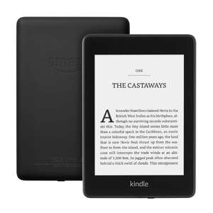 Kindle paperwhite 8gb (wih special offers) £89.99 (without special offers) £99.99 at Amazon (latest version - waterproof, etc)