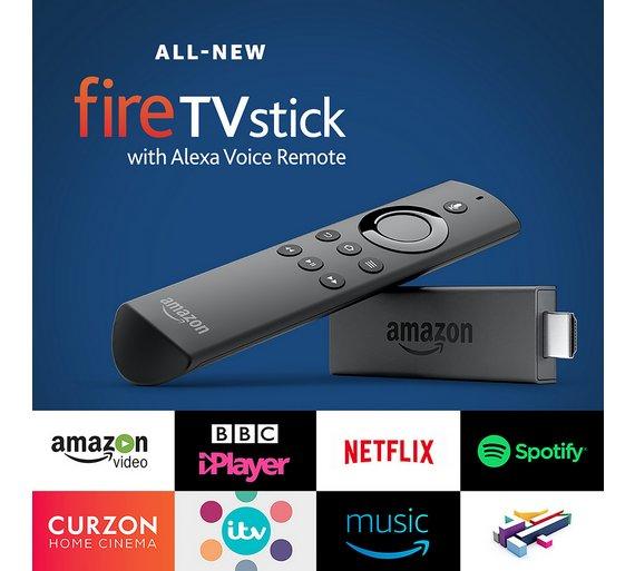 Amazon Fire TV Stick With Alexa Voice Remote £24.95 @ Argos / Argos eBay