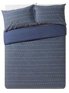 100% Cotton Bedding Set - Blue.  Double £15.99 King £16.99 Superking £17.99 Delivered @ Argos on eBay
